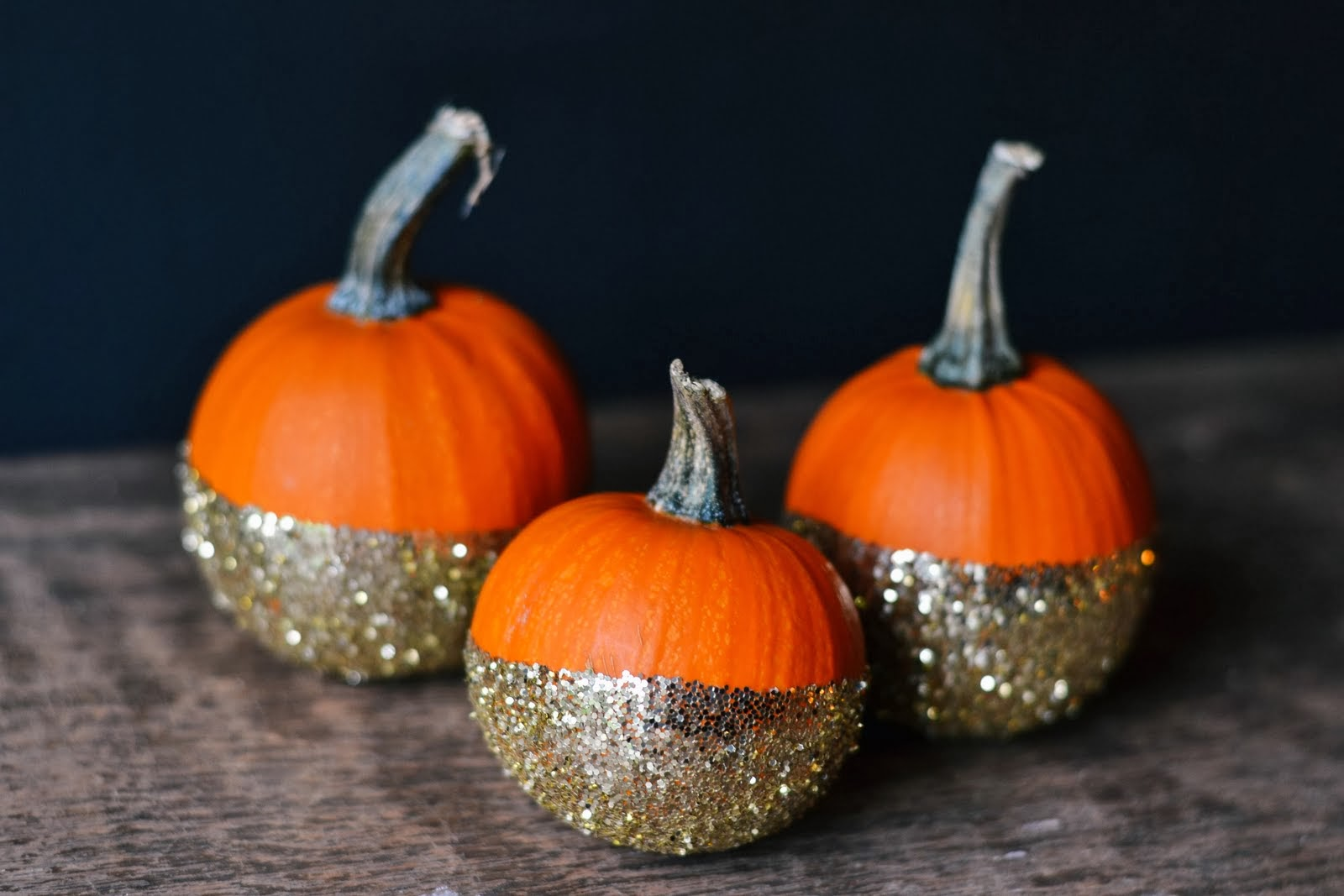 Pretty Pumpkins, No Carving Required!